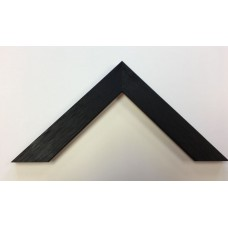 Flat Black Stained Solid Wood (29mm wide x 14mm deep)