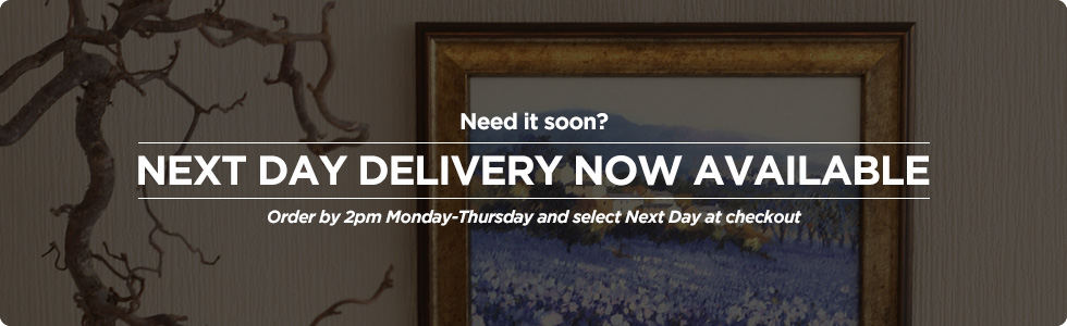 Order by 2pm Mon-Thurs for Next Day Delivery