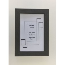 Grey solid Wood Picture Frame (18mm wide x 13mm deep)