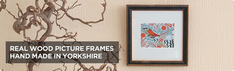 Real Wood Picture Frames